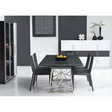 black and white dining room chairs dining room casual dining sets with travertine dining table also