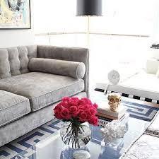 Die  Besten Gray Velvet Sofa Ideen Auf Pinterest Graues - Sofa bolster cushions