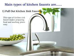 types of kitchen faucets faucet types kitchen fascinating kitchen faucet types stainless