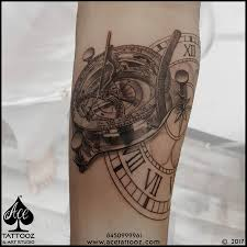 tattoo compass realistic realistic compass tattoo ace tattooz