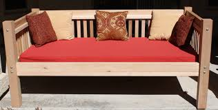 Red Bed Cushions Mattress Sized Bed Cushions