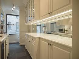 Mirrored Backsplash In Kitchen Custom Backsplash Mirror Traditional Kitchen New York By Paula Ideas