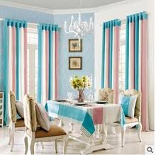 Teal And Beige Curtains Popular Pink Striped Curtains Buy Cheap Pink Striped Curtains Lots