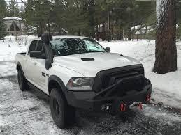 Rebel Mud Truck - front bumper brush guard ram rebel forum