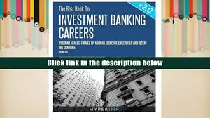 pdf the best book on investment banking careers donna khalife for