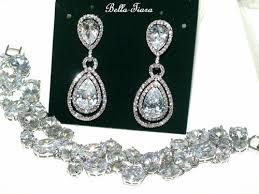 bracelet earrings set images Jewelry headpiece and veil help jpg