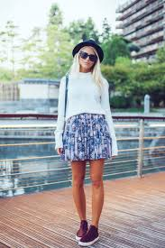 blue patterned shoes easing into autumn 2014 outfits to wear just the design