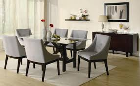 Glass Dining Room Table Set by Rectangle Glass Dining Table Set Get Inspired With Home Design