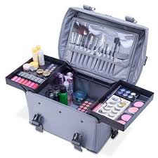 makeup artist box professional makeup artist 2 in 1 rolling makeup