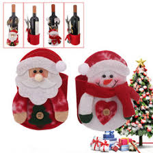 discount wholesale santa wine bottle holder 2017 wholesale santa