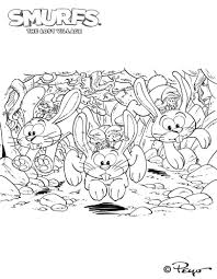 kids n fun com 7 coloring pages of smurfs and the lost village