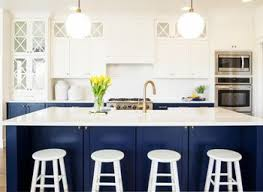 White And Blue Kitchen - navy blue kitchen cabinet navy blue chairs unique chrome norma