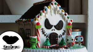 The Nightmare Before Christmas Home Decor Nightmare Before Christmas Gingerbread House How To Christmas