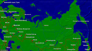 Russia Map Primap National Maps