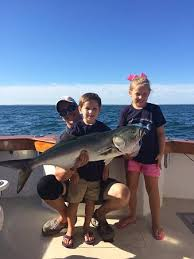 Cape Cod Kids Fishing - big smiles aboard the triton with triton sportfishing out of rock