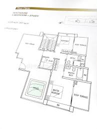 penthouse floor plans stock photo image of building architect