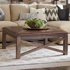 furniture tufted coffee table oversized ottoman coffee table