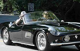 ferrari california 1961 celebrity car collectors nicolas cage cool rides online
