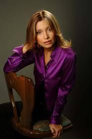 in satin blouses in satin blouses olga orlova purple satin blouse