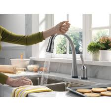 Delta Touch Kitchen Faucets by Kitchen Room Kitchen Excellent Silver Two Handle Delta Kitchen