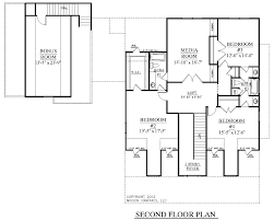 11 3 bedroom with bonus room house plans master suite upstairs