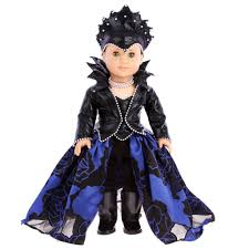 evil queen doll clothes for 18 inch american doll