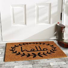 Amagabeli Wipe Your Paws Doormat Amazon Com Home U0026 More 121812436 Calico Hello Doormat 24