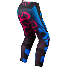 fox motocross clothes all new fox racing 2015 womens 180 pants blue red wide selection