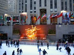 best outdoor ice rinks rockefeller center buckets and city