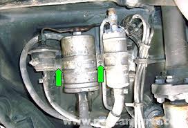 mercedes benz r129 fuel filter removal sl500 500sl 300sl