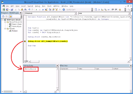 msdn c vba u2013 how to send a com object from vba to a c dll