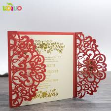 wedding invitations cards free shipping bengali wedding invitation card arabic wedding