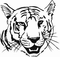 Tiger Face Coloring Pages Getcoloringpages Com Coloring Pages Tiger