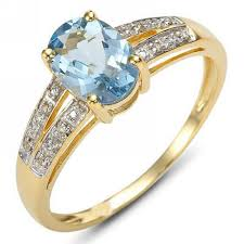 beautiful golden rings images Yellow gold aquamarine rings jpg