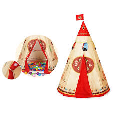 amazon com ylovetoys kids play tent indian teepee for children