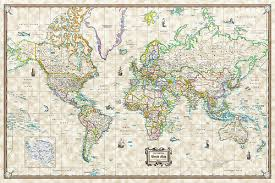 Decorative World Map Map Posters Paris Map Poster Bw 24 X36 The Map Crafter Tictail