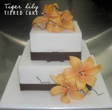 making a wedding cake with tiger lily sugar flowers talk sweet