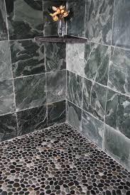 Stone Floor Bathroom - island stone java grey perfect pebble floor 2 bathroom other