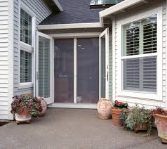 Out Swing Patio Doors Retractable Screen Doors Puget Sound Invisible Screens