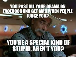 Facebook Post Meme - cryptic messages suck home facebook