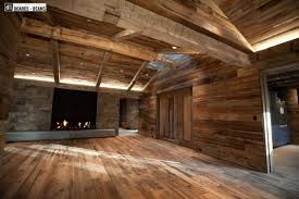 log cabin floors reclaimed wood species distinguished boards beams