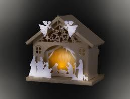 3d nativity barn template by mysvghut on etsy ideias natalinas