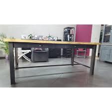 table cuisine banc salle a manger avec banc 3 meuble industriel table de salle 224