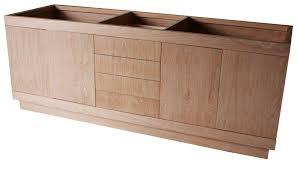 White Oak Furniture Custom Bathroom Cabinet In Cerused White Oak U2013 Mortise U0026 Tenon