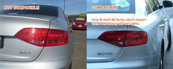 smoked 3d led stripe lights for audi a4 b8 4d sedan