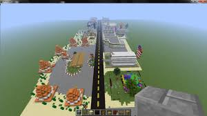 Disney Springs Map Radiator Springs Minecraft Project