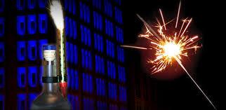 chagne bottle fireworks how to use bottle sparklers properly sparkler city