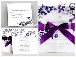 purple wedding invitations perfectly purple wedding invites for fall tagweddings