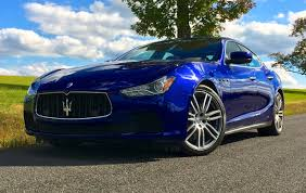 blue maserati ghibli 2015 maserati ghibli test drive autonation drive automotive blog