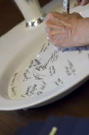 wedding platter guest book guest book etching signature bowl how fabulous is this all you